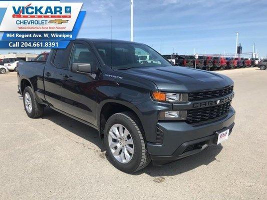 2019 Chevrolet Silverado 1500 Custom  - $251.72 B/W