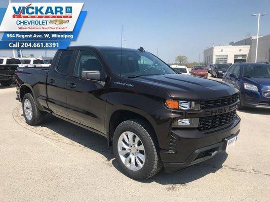 2019 Chevrolet Silverado 1500 Custom  - $256.57 B/W