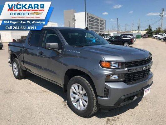 2019 Chevrolet Silverado 1500 Custom  - $270.71 B/W