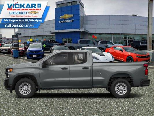 2019 Chevrolet Silverado 1500 Custom  - $259.19 B/W