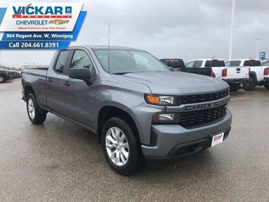 2019 Chevrolet Silverado 1500 Custom  - $253.06 B/W