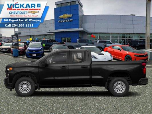 2019 Chevrolet Silverado 1500 Work Truck  - $225 B/W