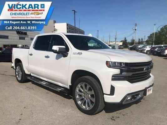 2019 Chevrolet Silverado 1500 High Country  - $412.95 B/W