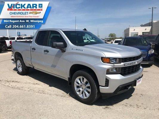 2019 Chevrolet Silverado 1500 Custom  - $252.58 B/W