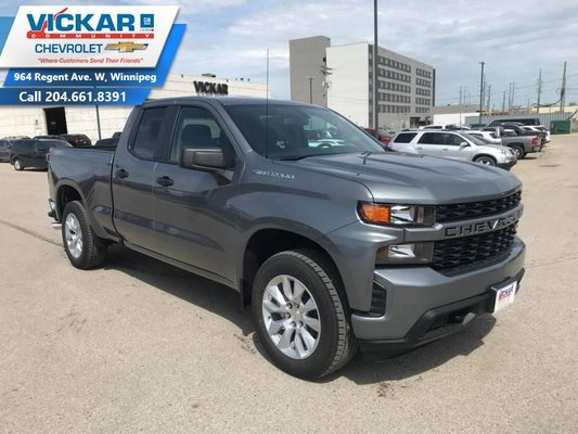 2019 Chevrolet Silverado 1500 Custom  - $246.63 B/W