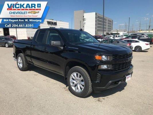2019 Chevrolet Silverado 1500 Custom  - $253.91 B/W