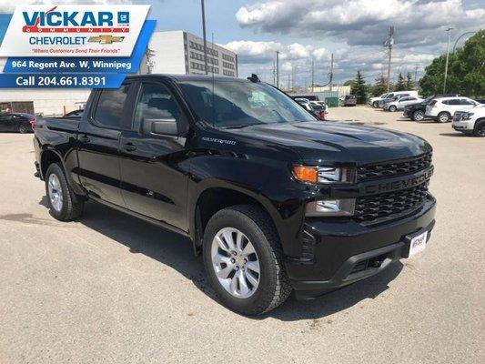 2019 Chevrolet Silverado 1500 Custom  - $281.18 B/W