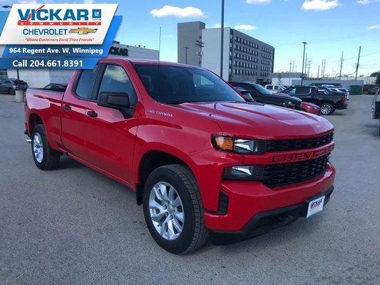 2019 Chevrolet Silverado 1500 Custom  - $242 B/W