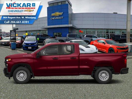 2019 Chevrolet Silverado 1500 Custom  - $257.10 B/W