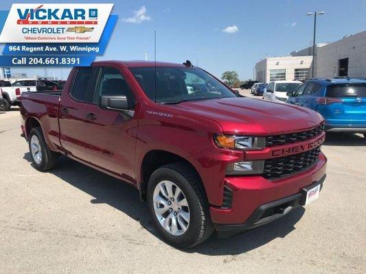 2019 Chevrolet Silverado 1500 Custom  - $254.26 B/W