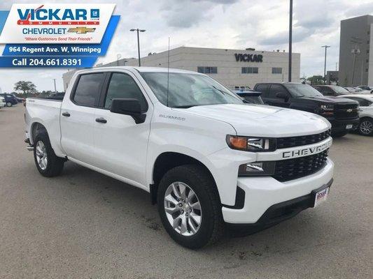 2019 Chevrolet Silverado 1500 Custom  - $257.39 B/W