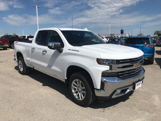 2019 Chevrolet Silverado 1500 LTZ  - $296 B/W