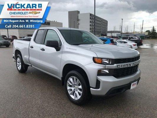 2019 Chevrolet Silverado 1500 Custom  - $241.74 B/W