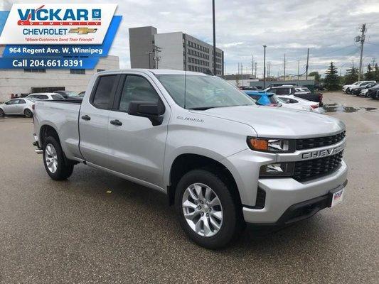 2019 Chevrolet Silverado 1500 Custom  - $250.87 B/W
