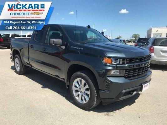 2019 Chevrolet Silverado 1500 Custom  - $255.23 B/W