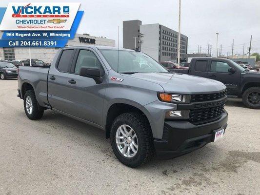 2019 Chevrolet Silverado 1500 Work Truck  - OnStar - $259.03 B/W