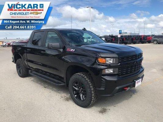 2019 Chevrolet Silverado 1500 Custom Trail Boss  - $290.53 B/W