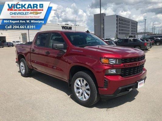 2019 Chevrolet Silverado 1500 Custom  - $269.90 B/W