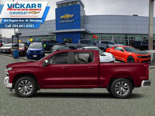 2019 Chevrolet Silverado 1500 Custom  - $270.49 B/W