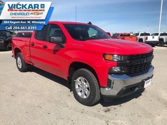 2019 Chevrolet Silverado 1500 Work Truck  - OnStar