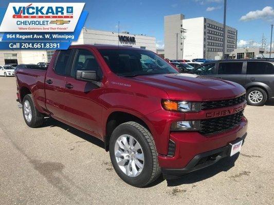 2019 Chevrolet Silverado 1500 Custom  - $238 B/W