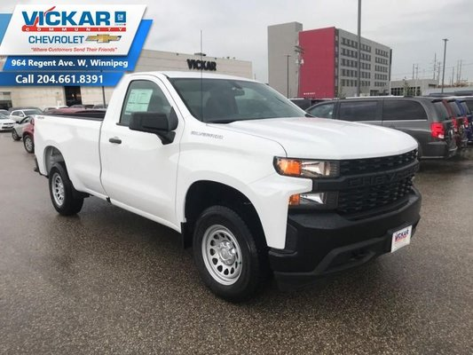 2019 Chevrolet Silverado 1500 Work Truck  - $230.66 B/W