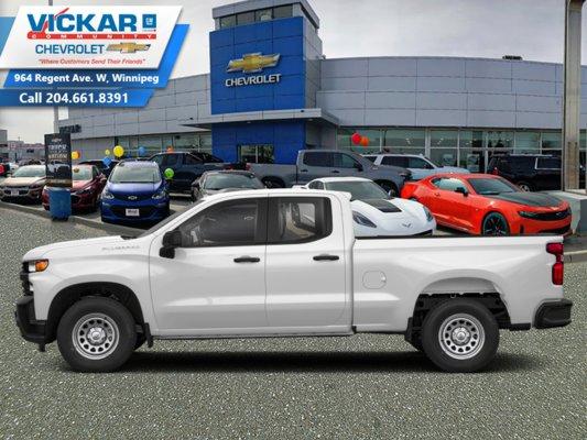 2019 Chevrolet Silverado 1500 Custom  - $256.19 B/W