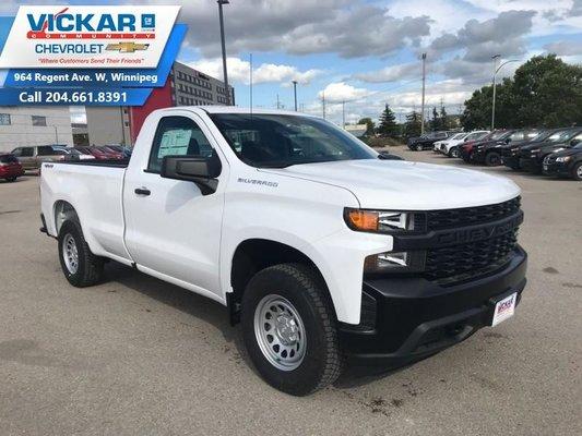2019 Chevrolet Silverado 1500 Work Truck  - $222 B/W