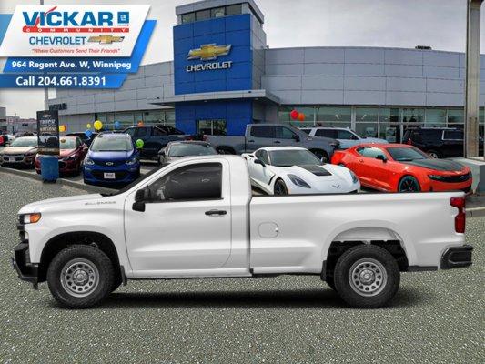 2019 Chevrolet Silverado 1500 Work Truck  - $194 B/W
