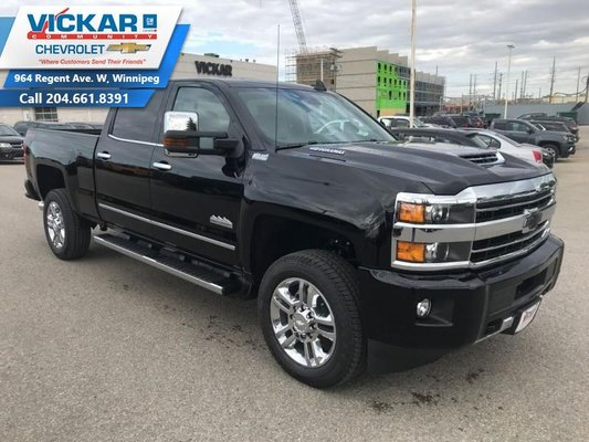 Chevy High Country 2500 >> New 2019 Chevrolet Silverado 2500hd High Country Black For