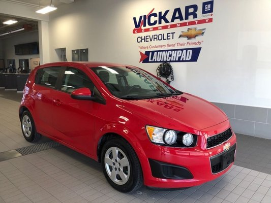 2013 Chevrolet Sonic LS  AUTOMATIC, 4CYL. FUEL EFFICIENT  - $81 B/W