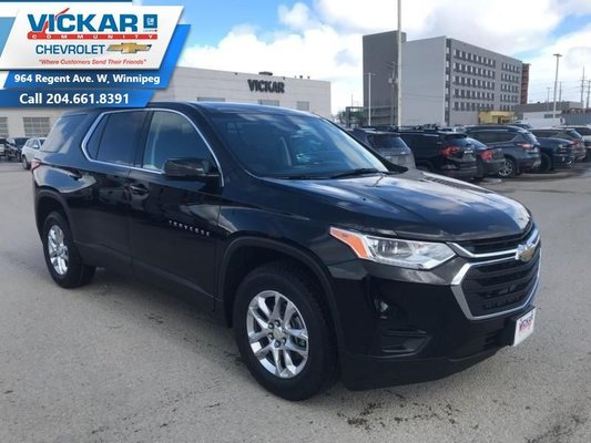 2019 Chevrolet Traverse LS  - Android Auto -  Apple CarPlay - $237.32 B/W