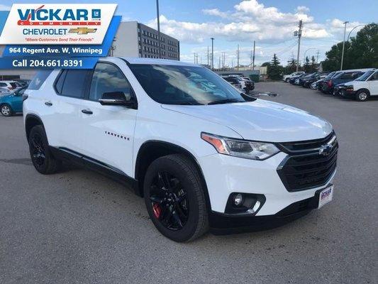 New 2019 Chevrolet Traverse Premier - Redline Edition ...