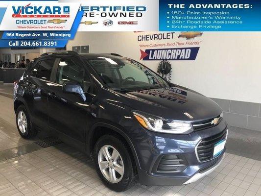 2018 Chevrolet Trax LT   AWD, BOSE AUDIO, SUNROOF,   - $156.80 B/W