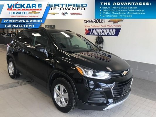 2018 Chevrolet Trax LT  AWD, BOSE AUDIO, SUNROOF, REMOTE START  - $163 B/W