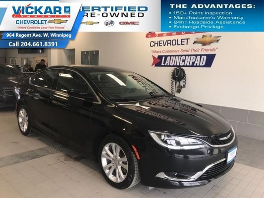 2016 Chrysler 200 FUEL EFFICIENT,2.4l 4 cyl. AUTOMATIC, BLUETOOTH   - $120 B/W