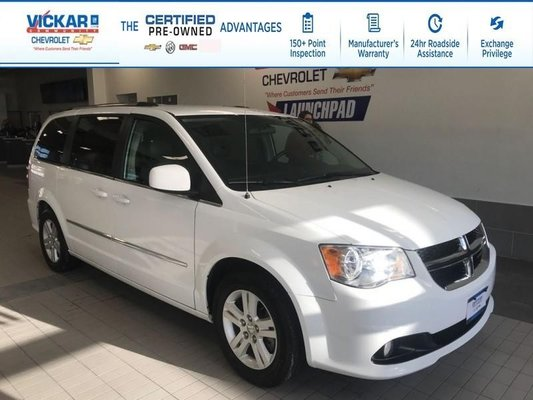 2017 Dodge Grand Caravan 2017 DODGE GRAND CARAVAN CREW STOW N GO, LEATHER SEATS, POWER REAR DOORS AND HATCH  - $154.08 B/W