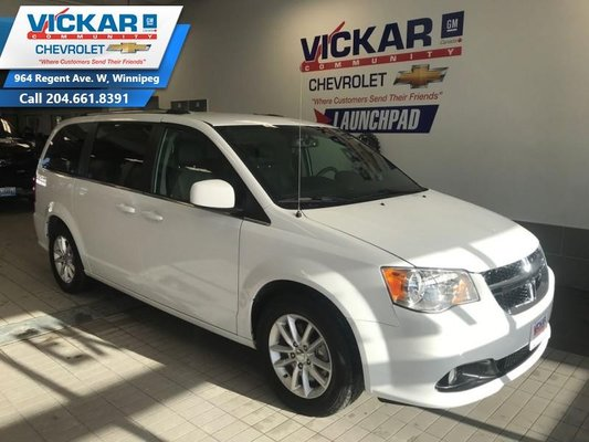 2018 Dodge Grand Caravan CVP/SXT  STOW N GO, V6,LEATER SEATS, BLUETOOTH   - $197.84 B/W