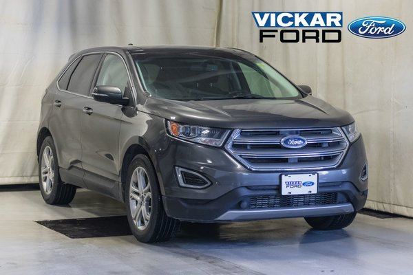 2016 Ford Edge Titanium AWD Leather & Panoroof