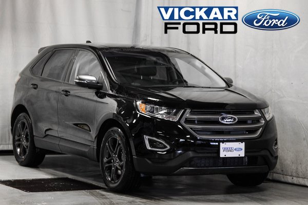 Used Tires Winnipeg >> New 2018 Ford Edge SEL Black for sale - $41389.0 | #18T6063 | Vickar Ford | Winnipeg