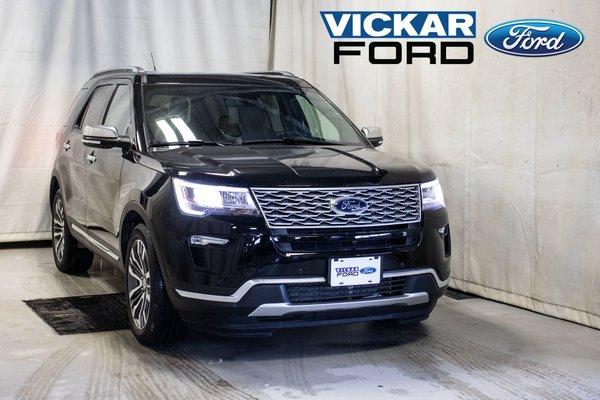 2018 Ford Explorer Platinum 4wd 7 Passenger 3.5L Ecoboost