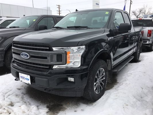 New 2018 Ford F 150 Super Cab Special Edition Sport Black