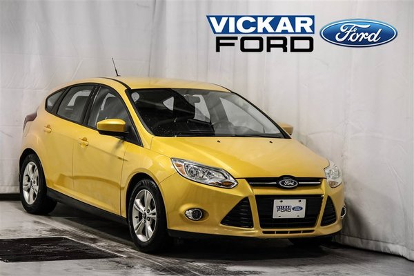 Used 2012 Ford Focus Se Hatchback Yellow In Winnipeg 11954 0