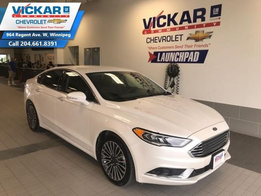 2018 Ford Fusion SE AWD, 2.0 ECO BOOST, NAVIGATION, LEATHER INTERIOR  - $170.87 B/W