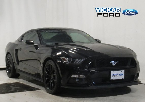 2017 Mustang Gt Premium >> Used 2017 Ford Mustang Coupe Gt Premium Roush Edition Black
