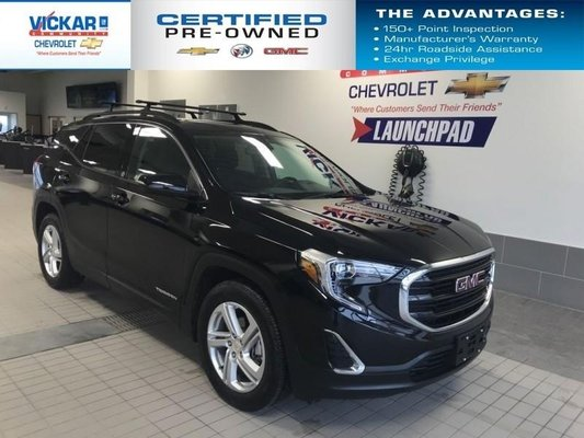2018 GMC Terrain FWD, SUNROOF, NAVIGATION, BLUETOOTH  - $187.78 B/W