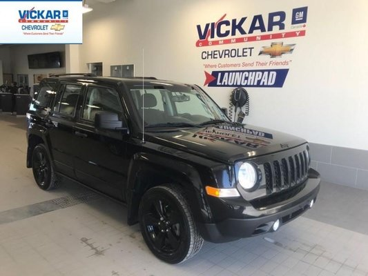 2015 Jeep Patriot Sport BLACK OUT, 4WD, 4 CYL. BLUETOOTH,  - $106.00 B/W