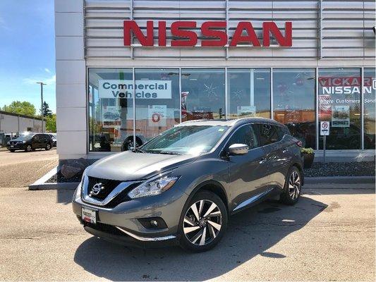 2018 Nissan Murano Platinum *NEW*