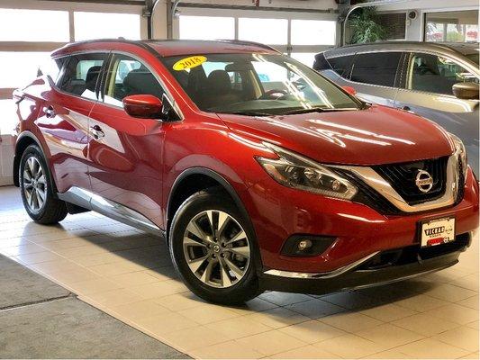 2018 Nissan Murano SV AWD *Local Trade*Low kms*