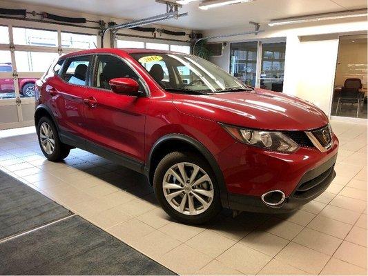 2018 Nissan Qashqai SV AWD *remote start* *no accident history*